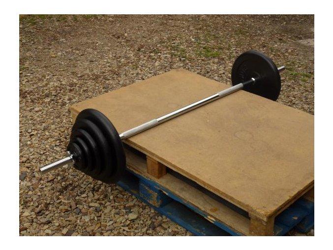 BENCH činka 115kg TMS 30mm