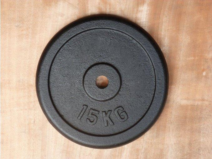 kotouc LB black 15kg 30mm 001
