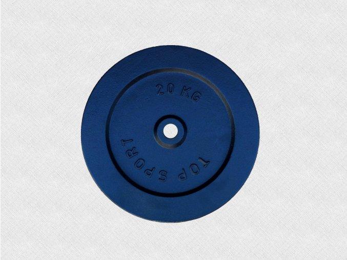kotouc TOPSPORT 20kg 25mm 03