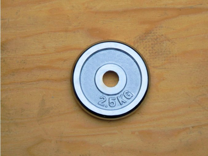 kotouc 2 5kg HS Cr 25mm 01
