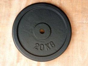 kotouc LB black 20kg 30mm 001