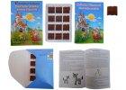 Čokoládová knihovna Božena Němcová Zlatá kniha pohádek 60g