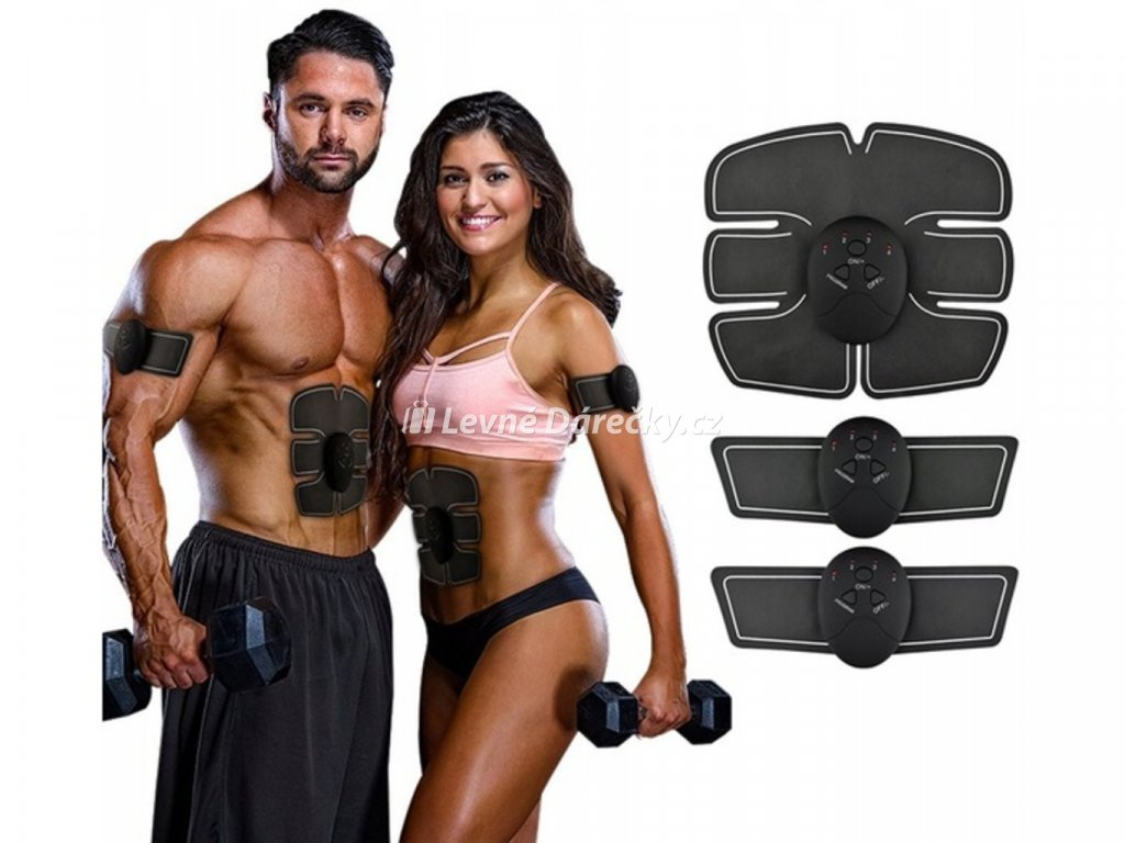 Elektrický posilovač břišních svalů EMS 3