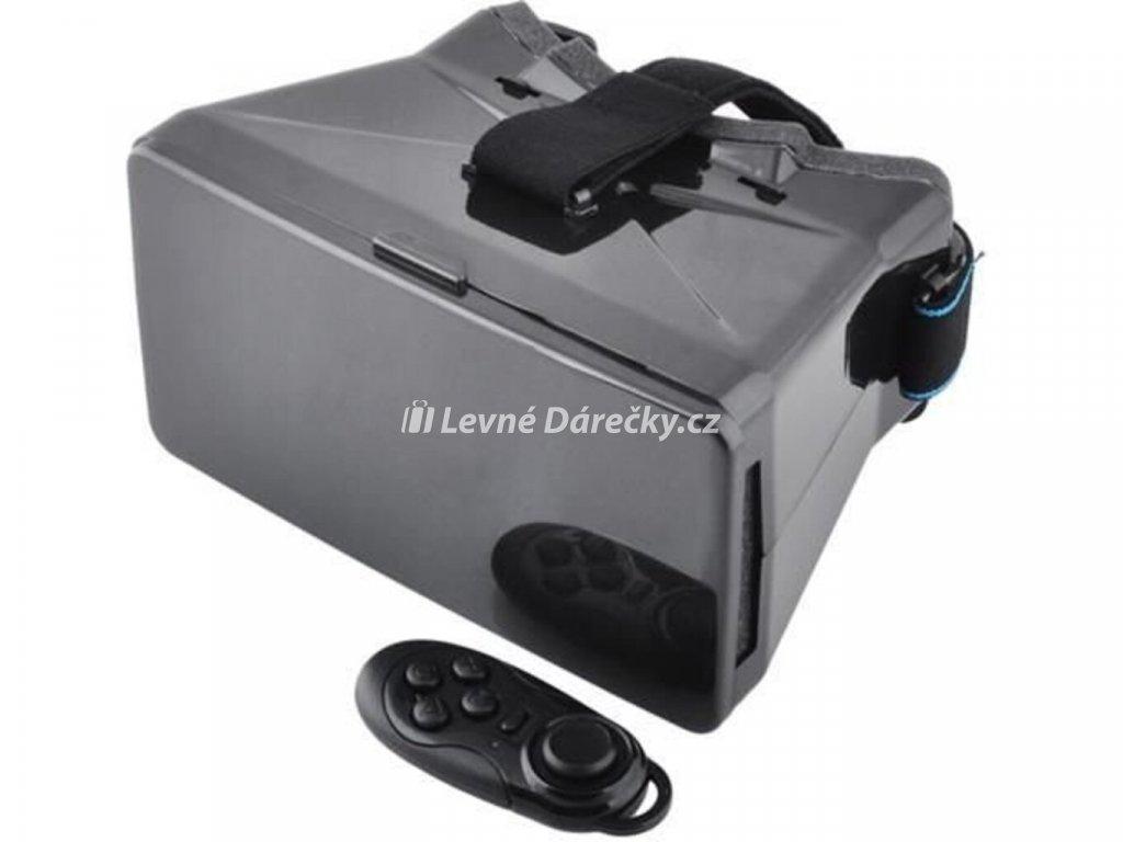 3D Google VR brýle s ovladačem3