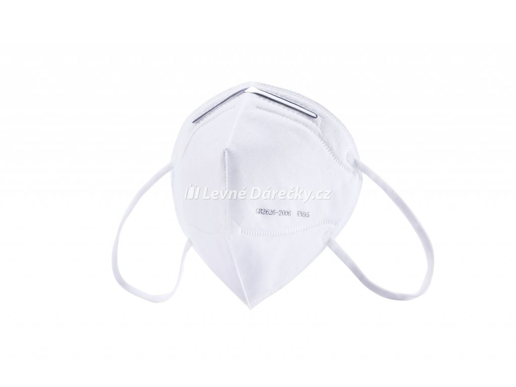 Respirator 4 vrstvý KN95 1ks