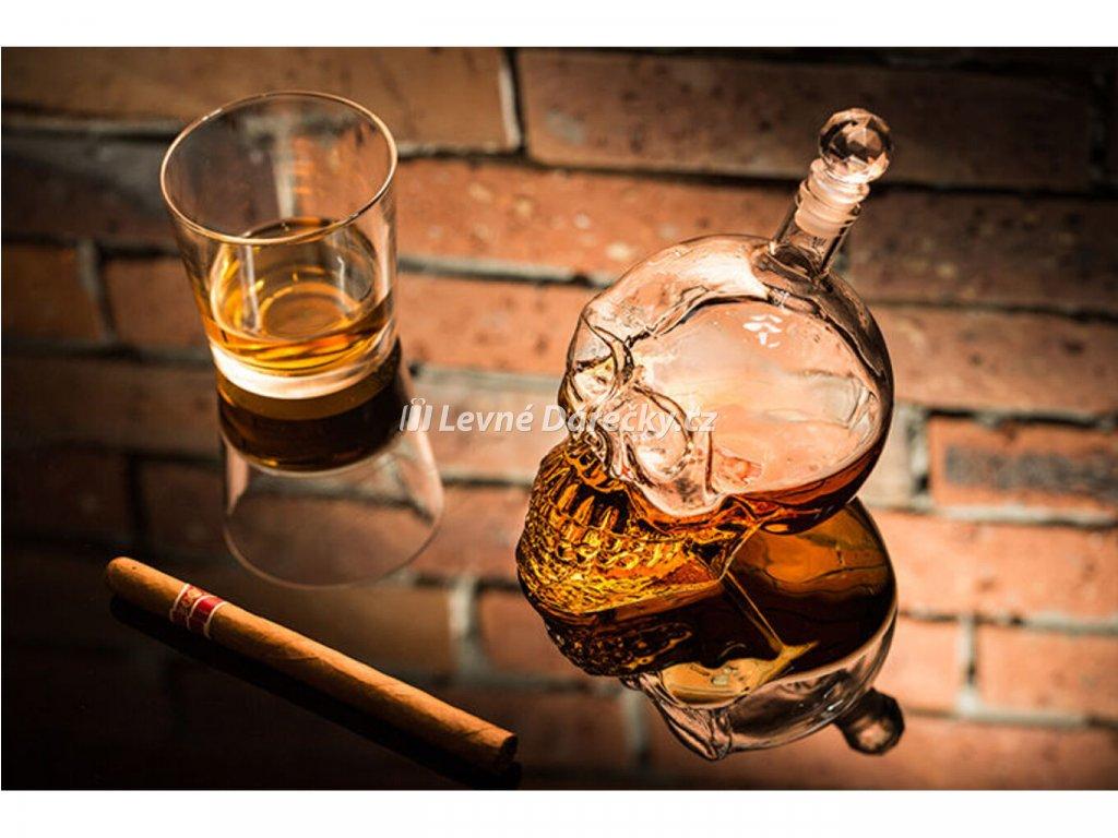 alkoholova lebka lahev 1