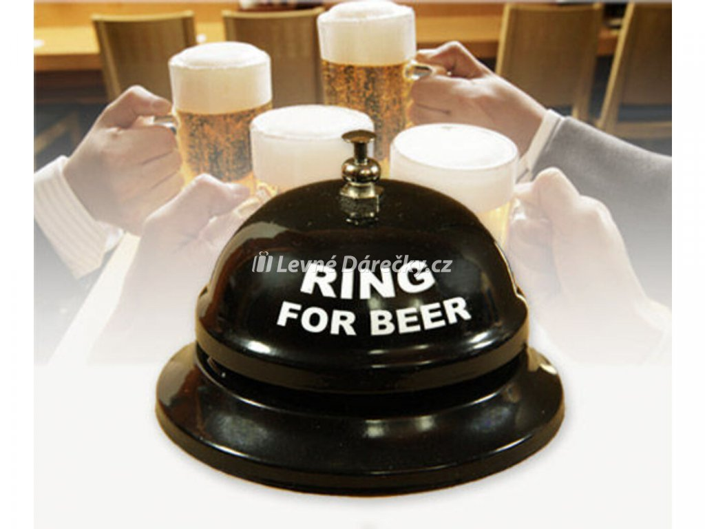 stolni zvonecek na pivo 1