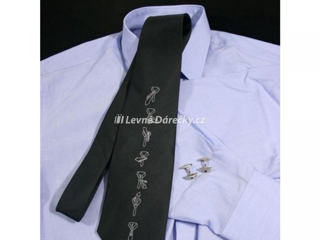 kravata s navodem na vazani 5