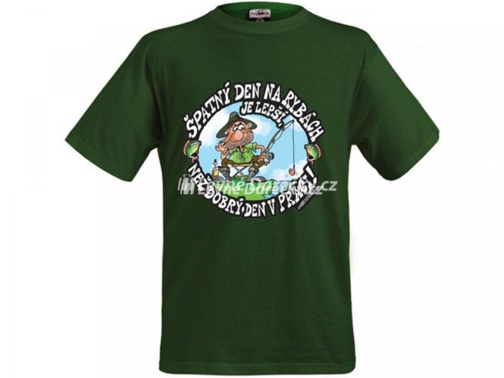Tričko - Špatný den na rybách