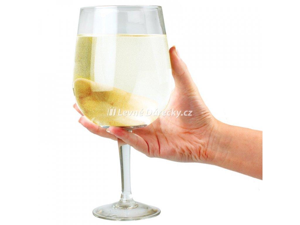 Obří sklenice na víno 750ml
