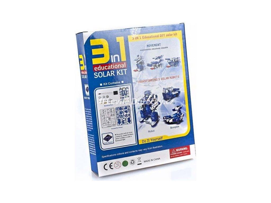 SolarBot 3v1 - poškozený obal