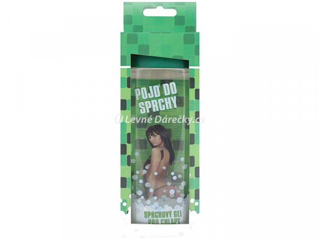 sprchovy gel 300ml 3d pro chlapy zeleny 1