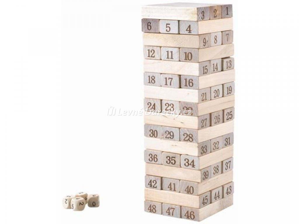Rodinná hra Dřevěná věž 6