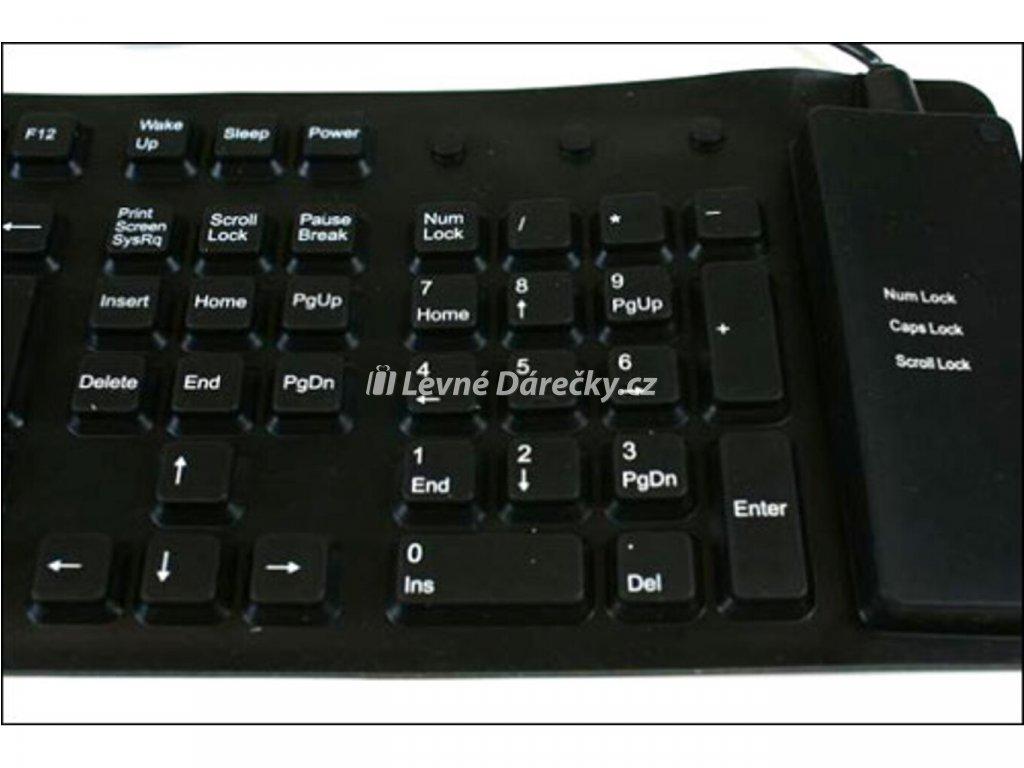 Siliknová klávesnice 2
