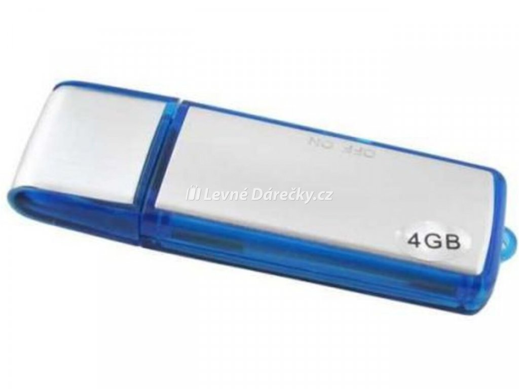 Digitální diktafon špionážní 4GB USB