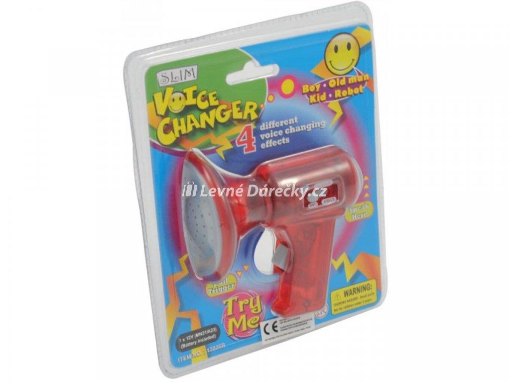 Malý megafon měnič hlasu