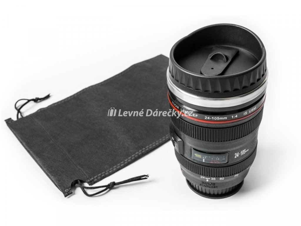 Antigravitační Hrnek objektiv Lens cup 2
