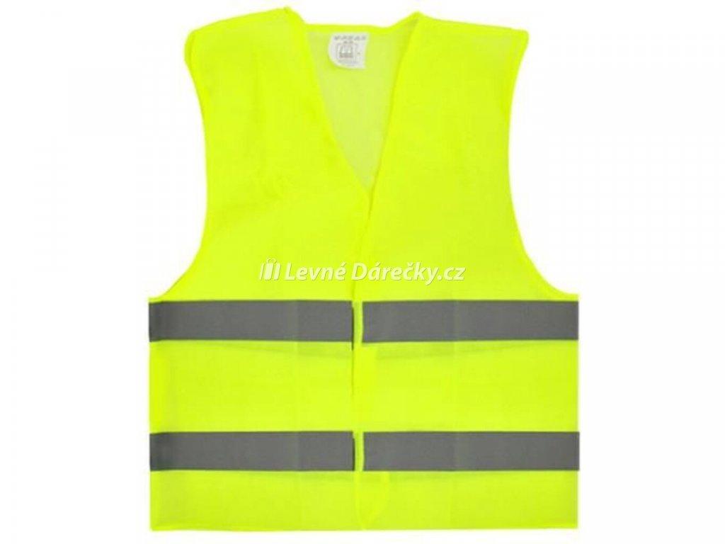 Bezpečnostní reflexní vesta oranžová