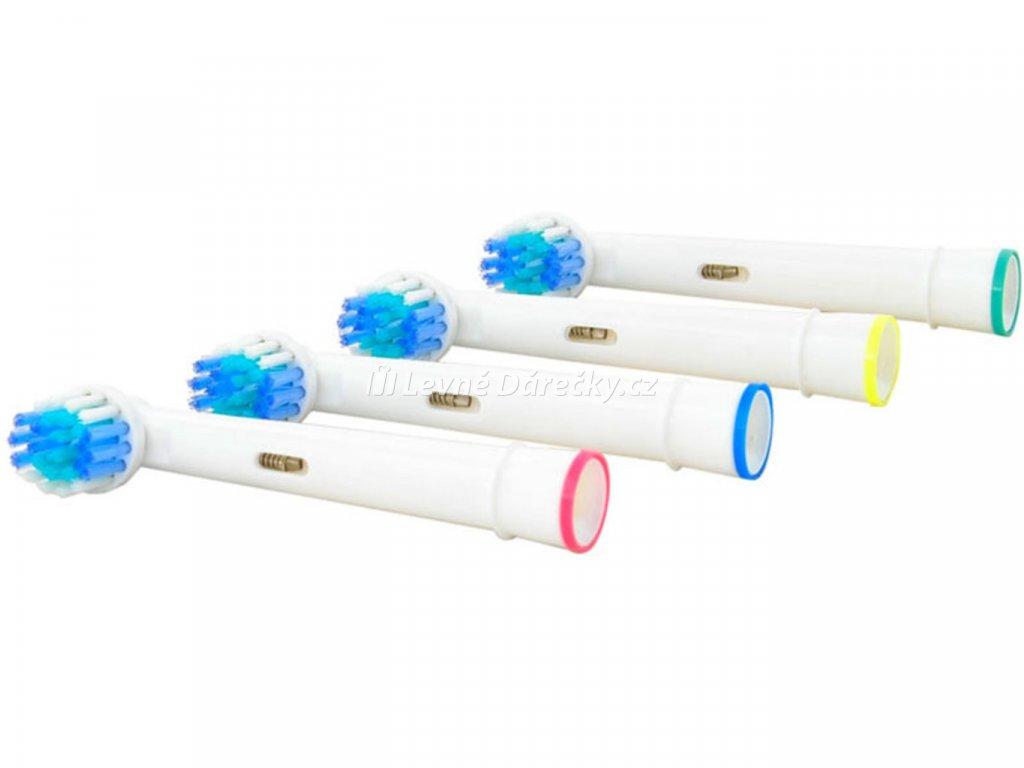 Náhradní zubní kartáčky na ORAL B univerzální 4 ks