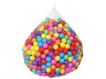 Plastové míčky do bazénu barevné 5cm 100ks 1