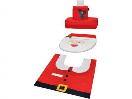 Vánoční potah na toaletu Santa Claus 10