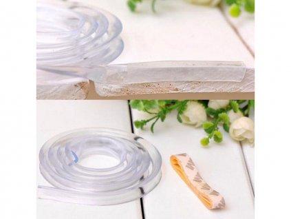 Ochranná průhledná páska na hrany stolu a nábytku 3