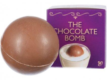 Čokoládová bomba s marshmallow do mléka2
