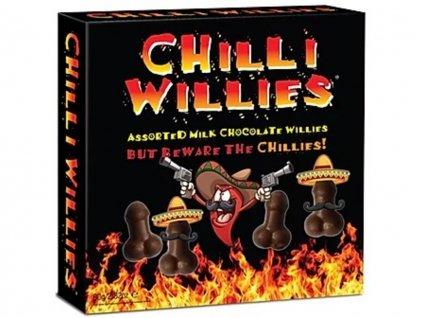Čokoládové penisy s Chilli1