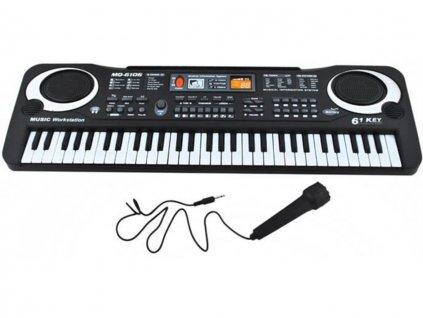 pol pm Keyboard organy elektroniczne 61 klawiszy K4687 12234 4
