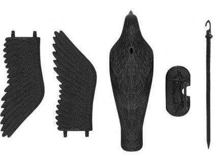 Odpuzovac holubu a ptáku Havran 38 cm