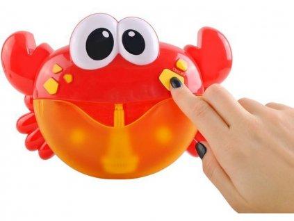 Bublinkovač do vany krab 1