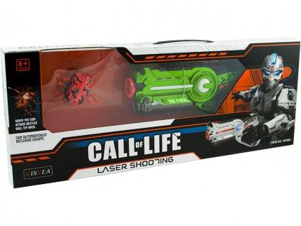 laserová pistole Call of Life s hmyzem