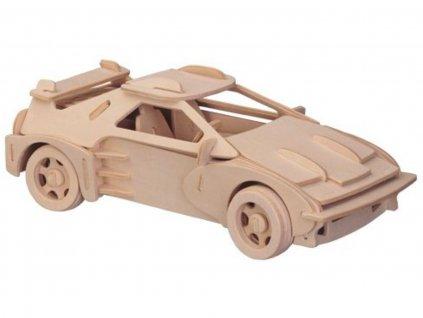 3D drevenne puzzle auto auto