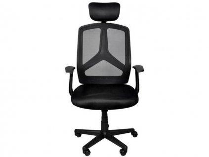 malatec 8981 kancelarska ergonomicka zidle cerna 1