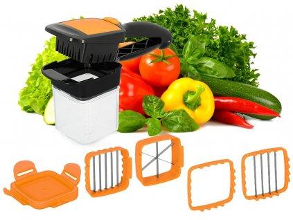 multifunkční kráječ zeleniny a ovoce quick
