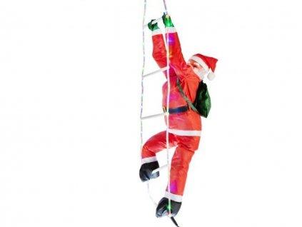 2Santa Claus na zebriku 95 LED 240 cm10