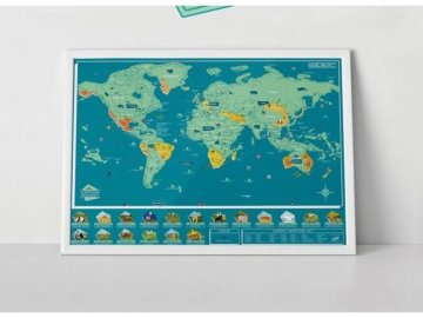 stiraci mapa sveta zvirata