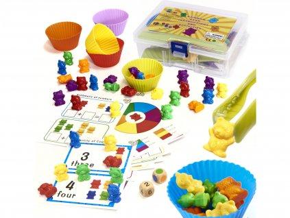 detska hra medvidci pro pocitani 116 dilu montessori 1