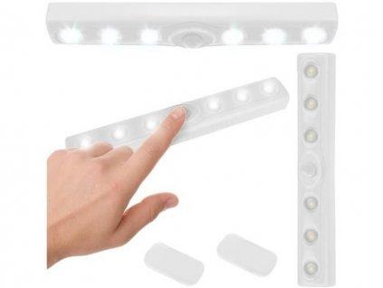 led osvetleni s pohybovym senzorem 6 led 4
