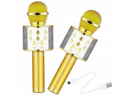 Karaoke bluetooth mikrofon - poškozený obal