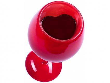 zamilovana sklenice na vino 12