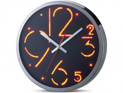 LED nástěnné hodiny - rozbalené