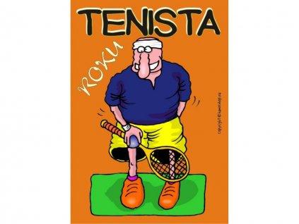 Certifikát - Tenista roku