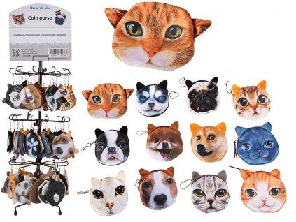 3D peněženka kočka