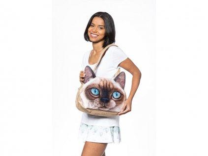 3D kabelka kočka - Typ 1