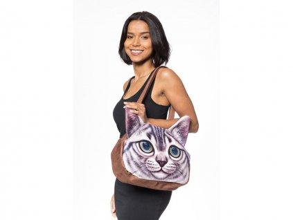 3D kabelka kočka - Typ 2