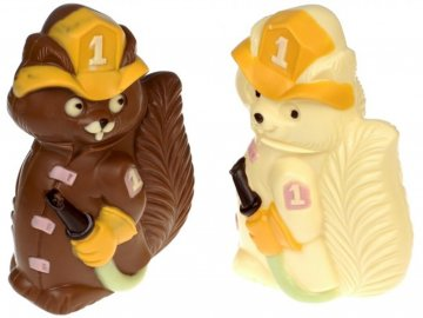 Čokoládový hasič
