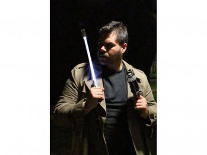 Svítící LED deštník Blade Runner