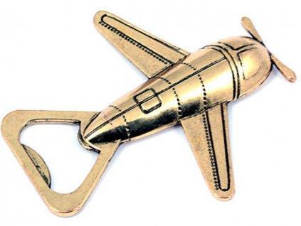 retro otvirak letadlo 1