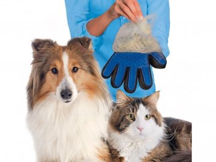 rukavice na vycesavani srsti 1